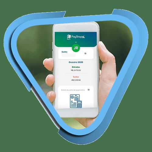 conta digital PayShopX