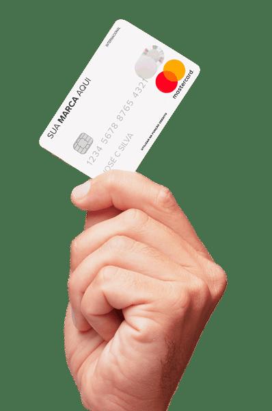Cartão de crédito com a sua marca